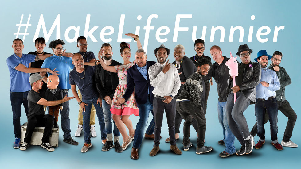 #MakeLifeFunnier artwork.