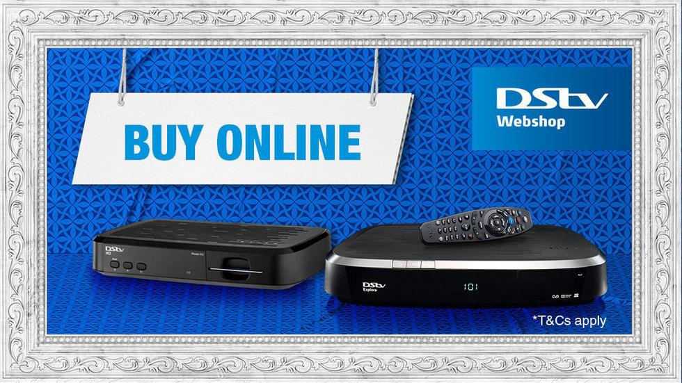 DStv Webshop artwork to Buy Online