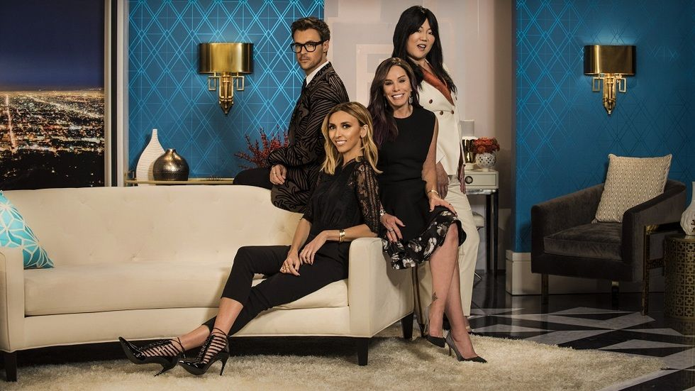The hosts of Fashion Police on E
