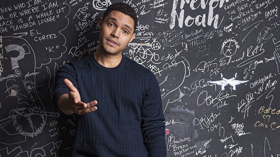 Trevor Noah live at the Dome