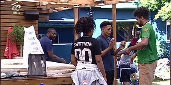 #BBNaija: Day 25 – Catch the egg game, Ese gets under Uriel's skin & Housemates win their wager, finally!