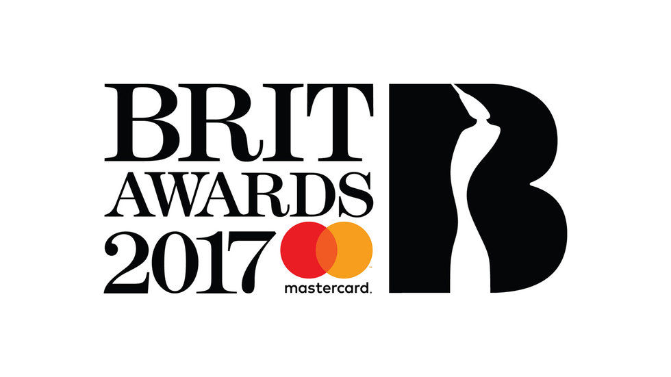 The official Brit Awards 2017 artwork.