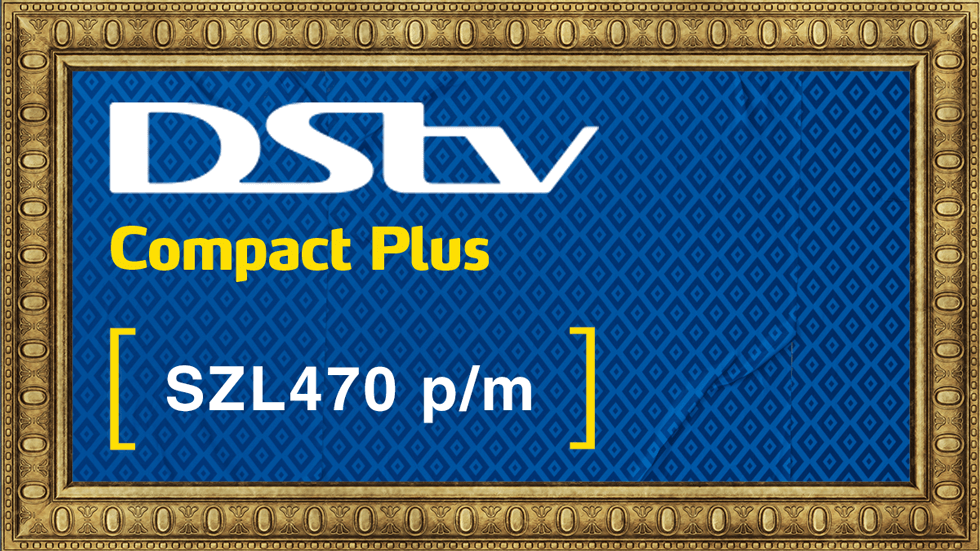 Get DStv Compact Plus Value Add Swaziland