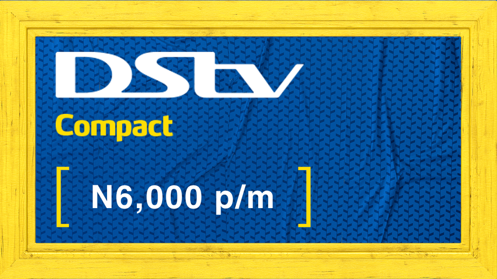 Get DStv Compact Value Add Nigeria