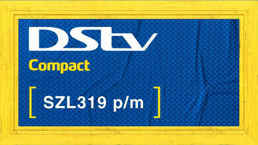 Get DStv Compact Value Add Swaziland