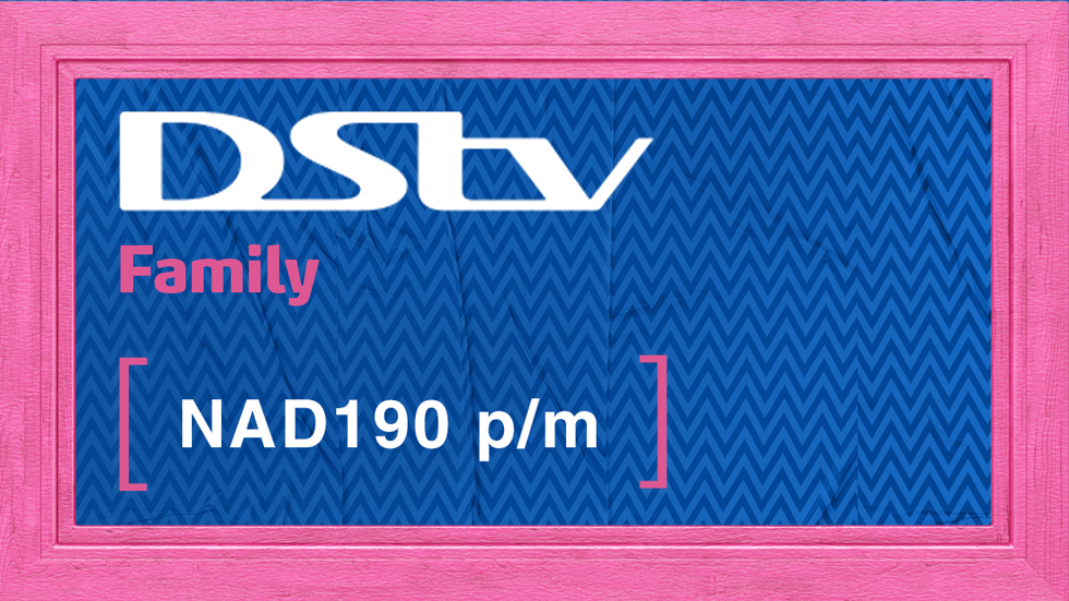 Get DStv Family Value Add Namibia