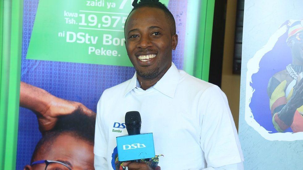 Comedian na ambassador wa DStv Bomba Joti kutoka Tanzania