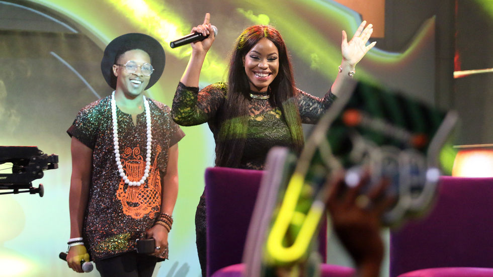 Fake Housemates Ese and Jon in Big Brother Naija