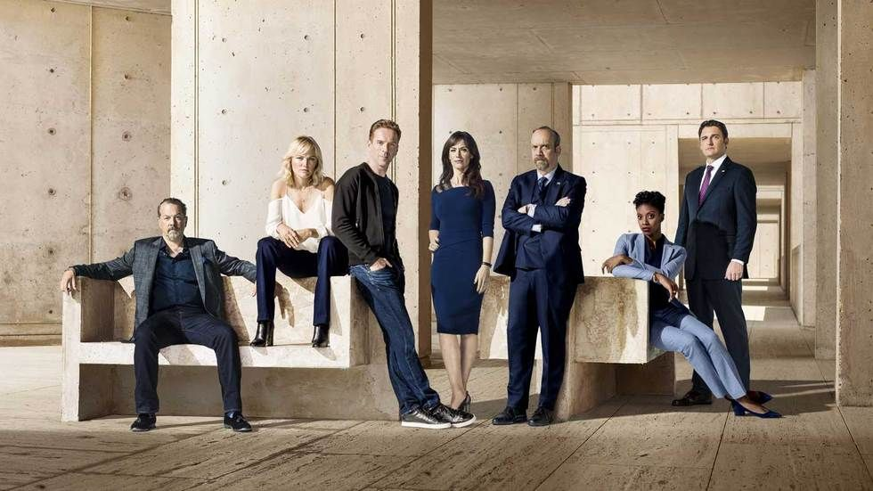 The cast of Billions