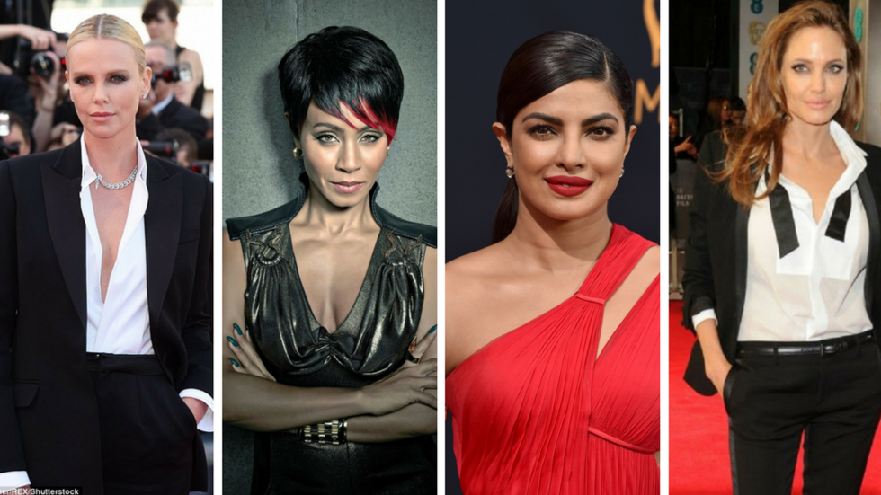 Charlize Theron, Jada Pinkett, Priyanka Chopra and Angelina Jolie
