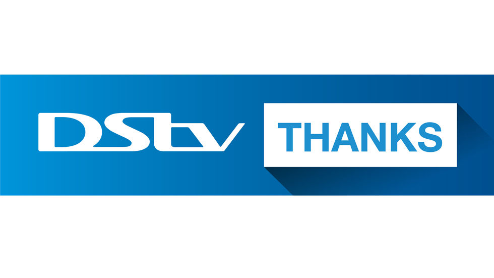 Logo for DStv Thanks
