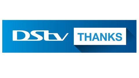 DStv Thanks logo