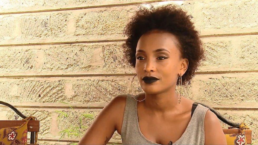 Actress Joyce Maina