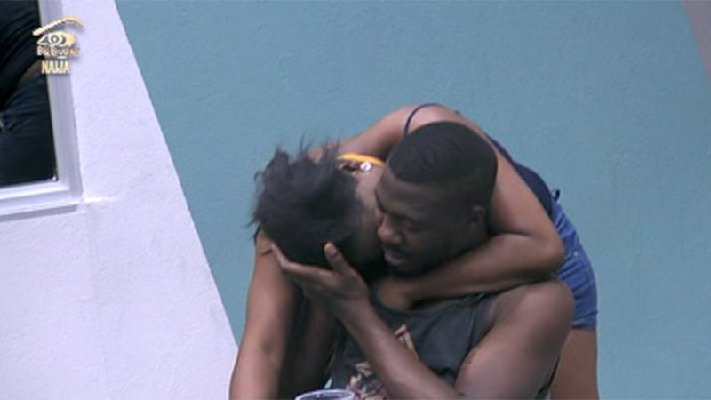 Bally and Bisola get physical