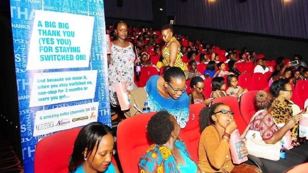 Hidden Figures screening in Uganda