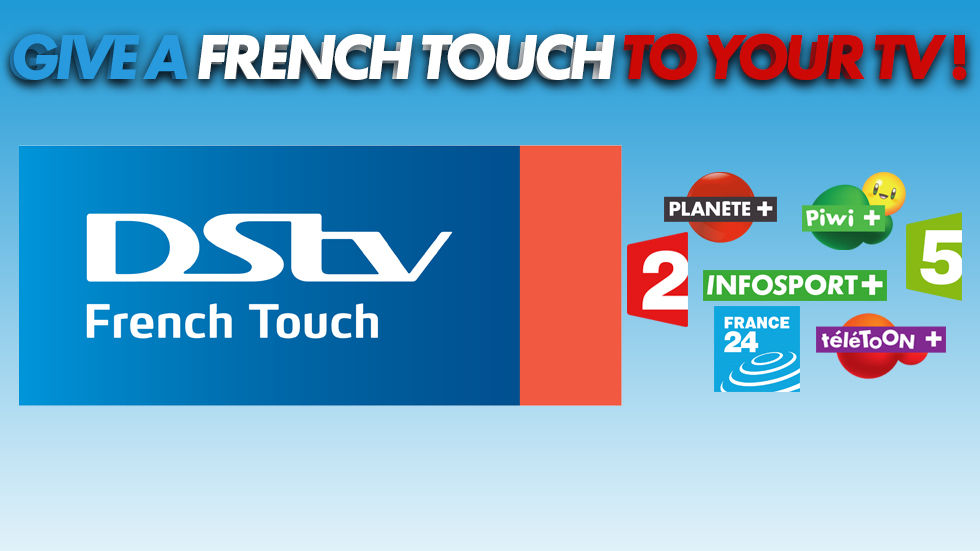 DStv French Touch banner for French Add-on page