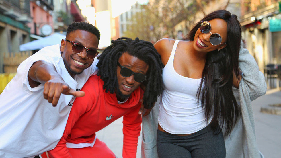 The hosts of Ridiculousness Africa Season Two.