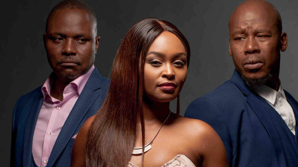 An image of the cast of Isithembiso