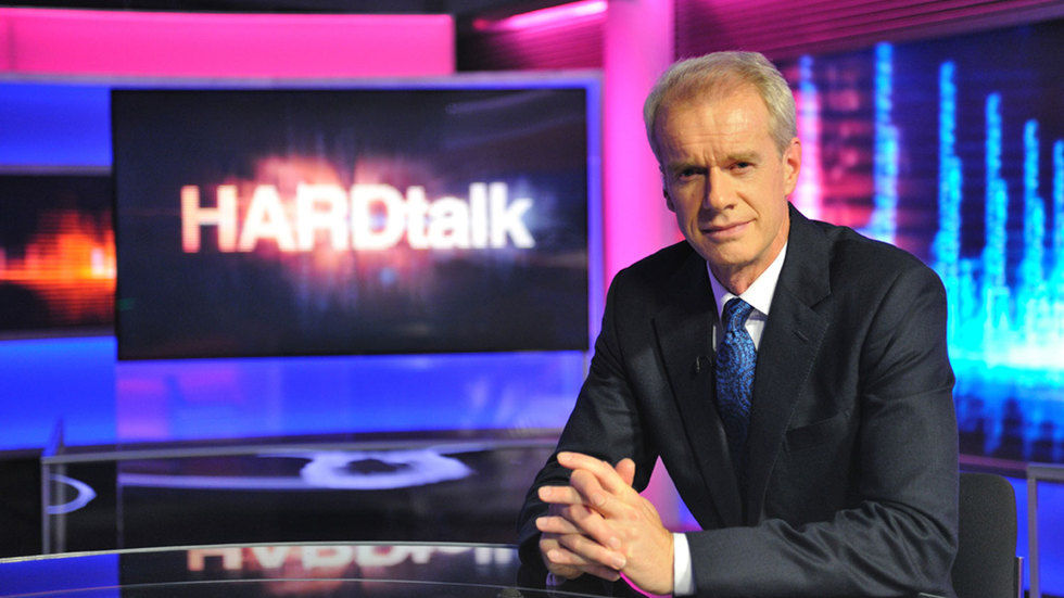 The host of HARDtalk.