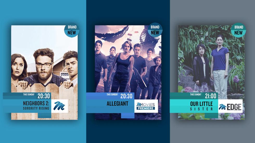 Sunday Night Movies on M-Net