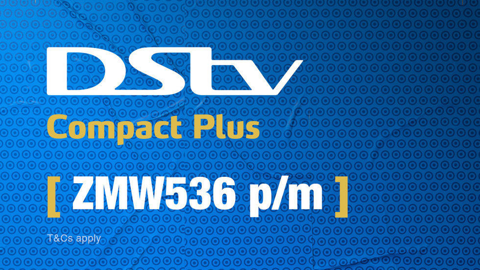 Get DStv Compact Plus for Zambia, April 2017
