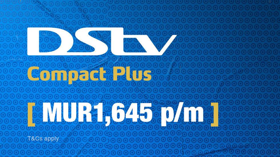 Get DStv Compact Plus for Mauritius, April 2017