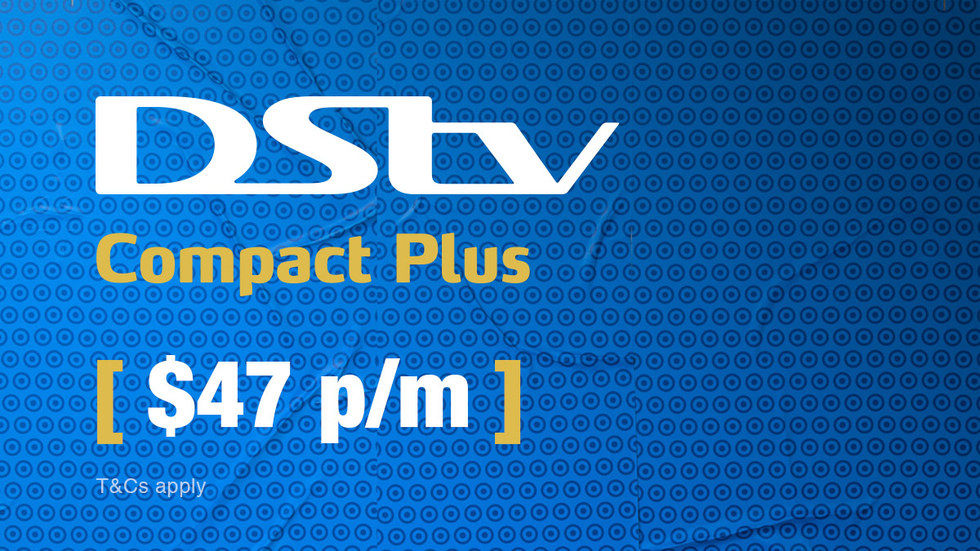 Get DStv Compact Plus for Zimbabwe, April 2017