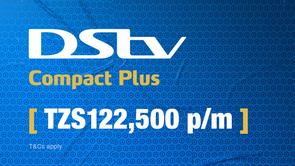 Get DStv Compact Plus for Tanzania, April 2017