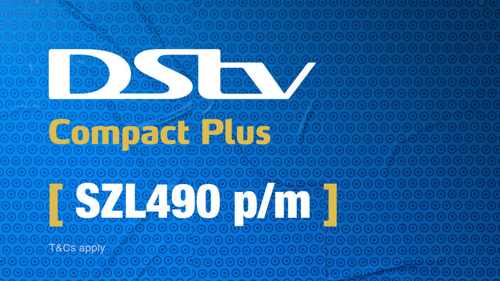 Get DStv Compact Plus for Swaziland, April 2017