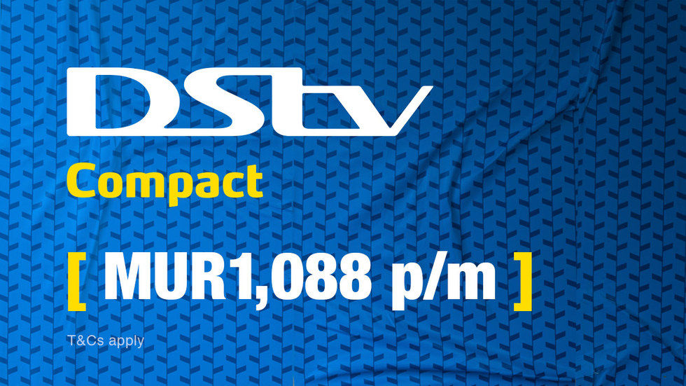 Get DStv Compact for Mauritius, April 2017