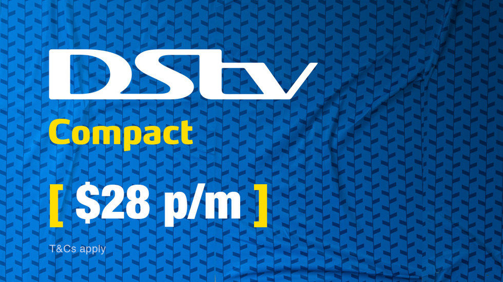 Get DStv Compact for Zimbabwe, April 2017