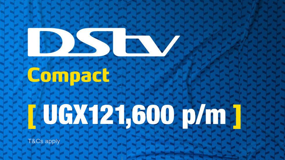 Get DStv Compact for Uganda, April 2017