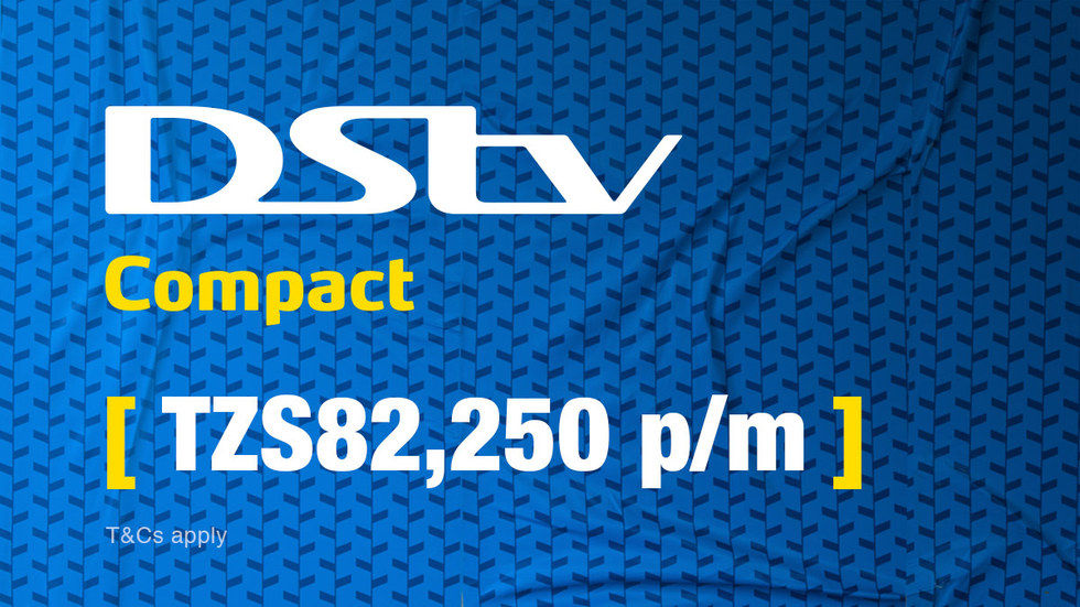 Get DStv Compact for Tanzania, April 2017