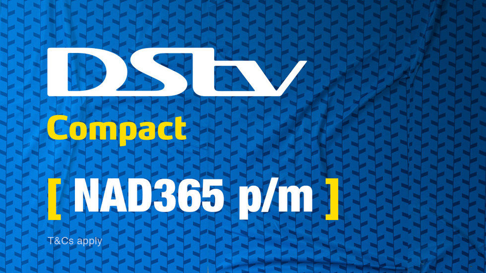 Get DStv Compact for Namibia, April 2017