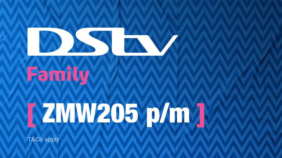Get DStv Family for Zambia, April 2017