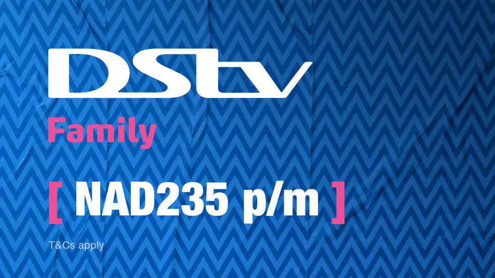 Get DStv Family for Namibia, April 2017