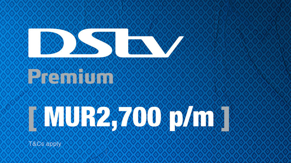 Get DStv Premium for Mauritius, April 2017