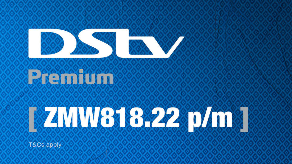 Get DStv Premium for Zambia, April 2017