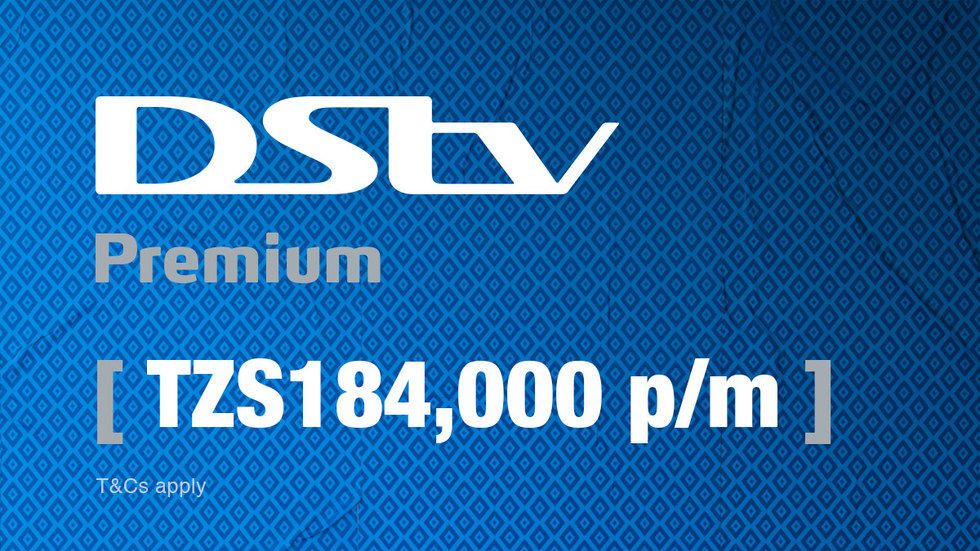 Get DStv Premium for Tanzania, April 2017