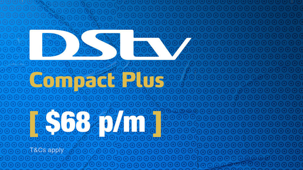 Get DStv Compact Plus for DRC, April 2017