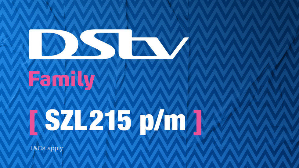 Get DStv Family for Swaziland, April 2017
