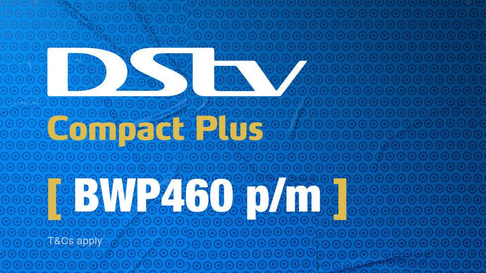 Get DStv Compact Plus Botswana 1 April 2017