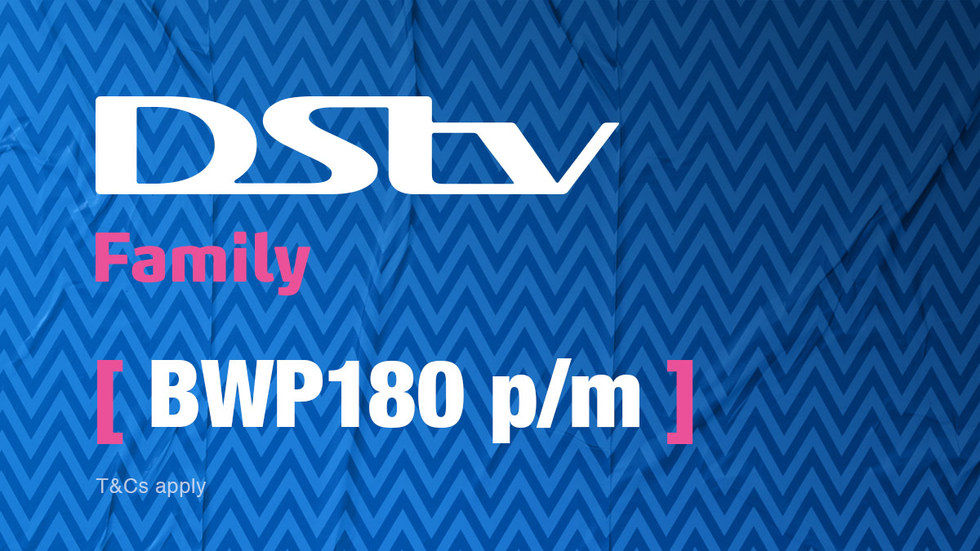 Get DStv Family Botswana 1 April 2017