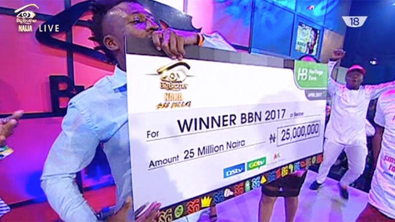 The Winner of BBNaija is Efe