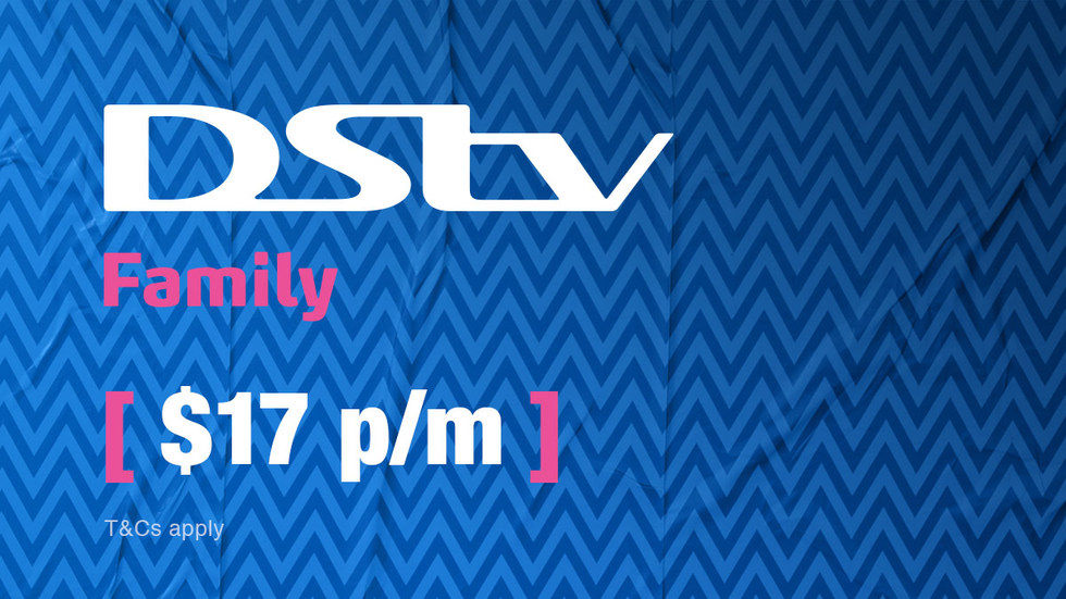 Get DStv Family for Zimbabwe, April 2017