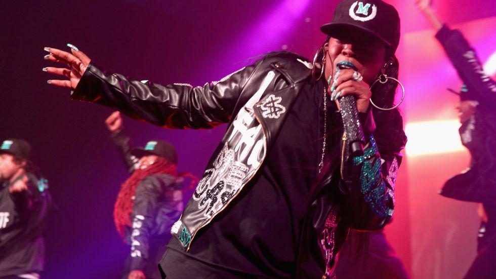 Missy Elliott, rap