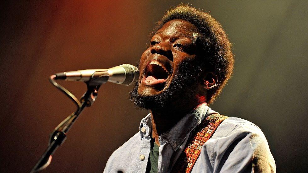 British-Ugandan musician Michael Kiwanuka