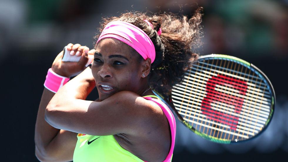 American tennis player Serena Williams