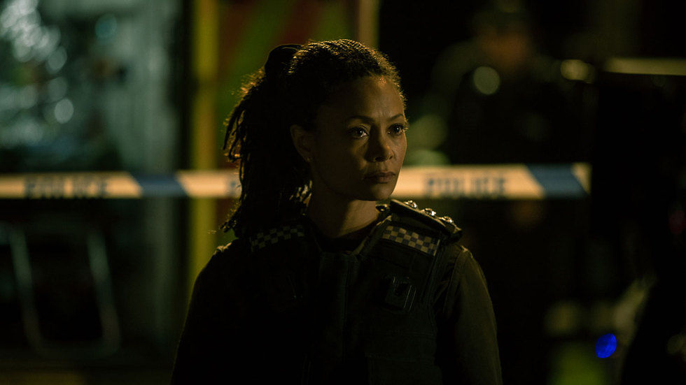 Thandie Newton on Line of Duty.
