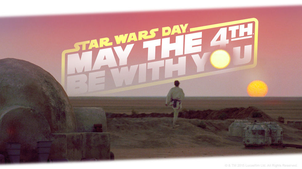 May the 4th Be With You, Star Wars